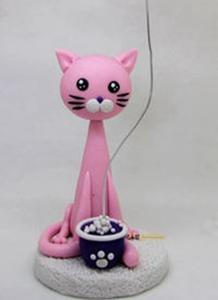 软陶培训-初级猫猫便签夹